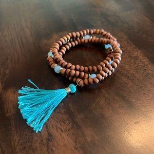 Boho Western Beaded Bracelet